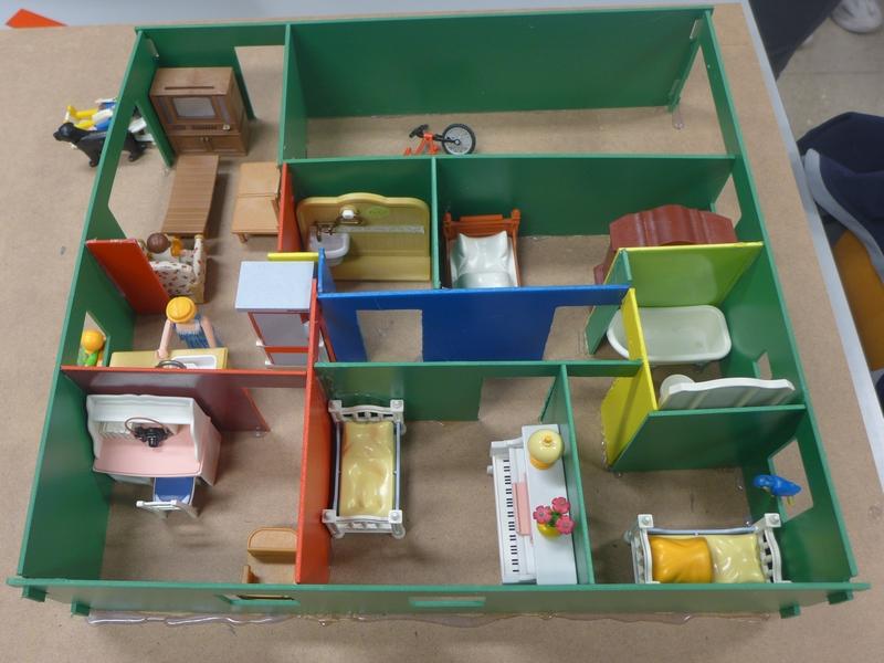 Rapsodel » Classe De 5Ème 5 : Réaliser La Maquette D'Une Maison