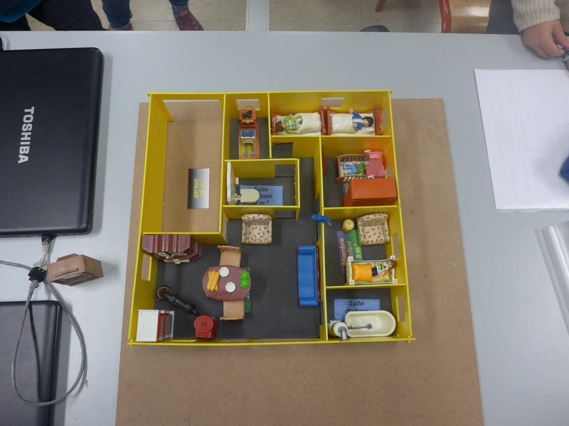 Rapsodel » Classe De 5Ème 9 : Réaliser La Maquette D'Une Maison